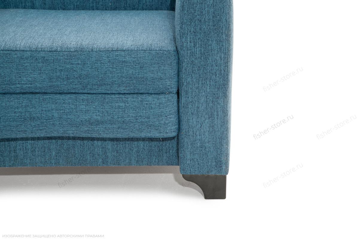 Двуспальный диван Этро-2 с опорой №1 Orion Denim Ножки