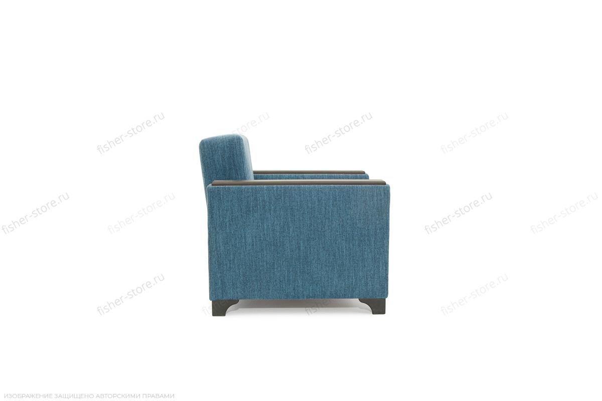 Двуспальный диван Этро-2 с опорой №1 Orion Denim Вид сбоку