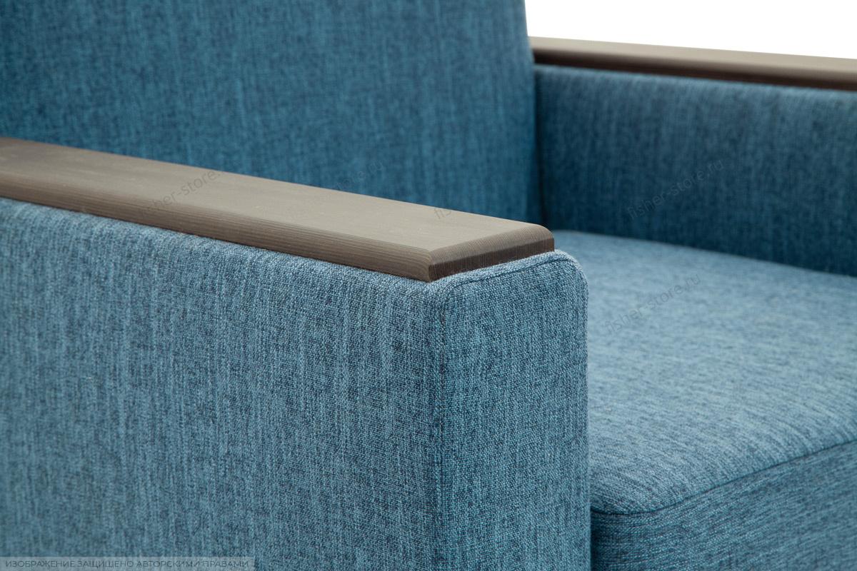 Двуспальный диван Этро-2 с опорой №1 Orion Denim Текстура ткани