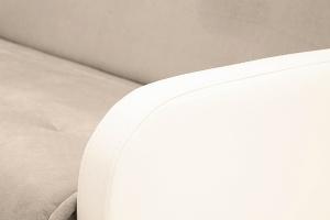 Диван Аккорд  Amigo Cream + Sontex Milk Подлокотник