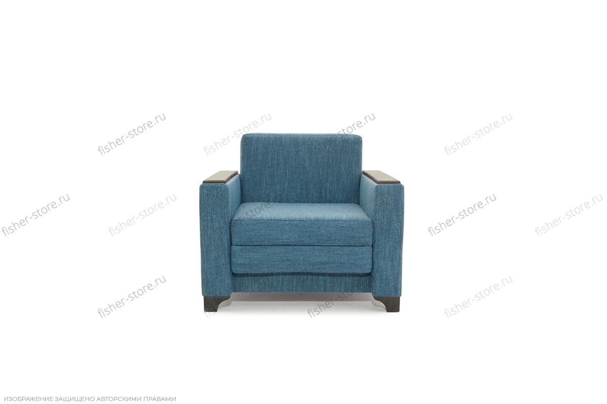 Двуспальный диван Этро-2 с опорой №1 Orion Denim Вид спереди
