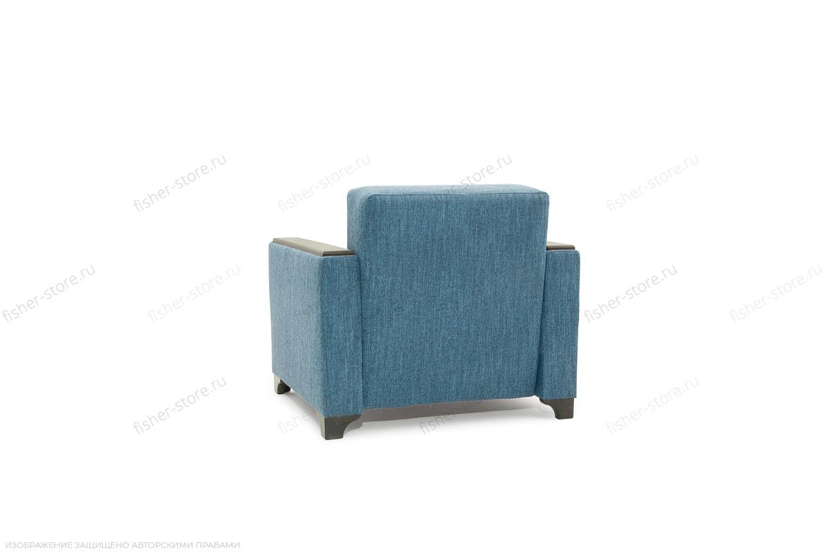 Двуспальный диван Этро-2 с опорой №1 Orion Denim Вид сзади