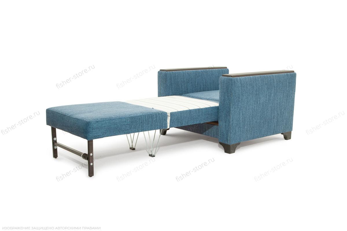 Двуспальный диван Этро-2 с опорой №1 Orion Denim Спальное место