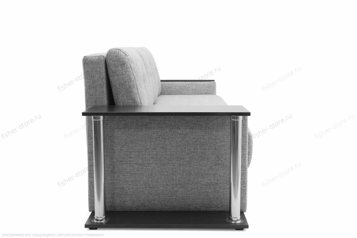 Прямой диван Атланта со столом Gray + Sontex Black Вид сбоку