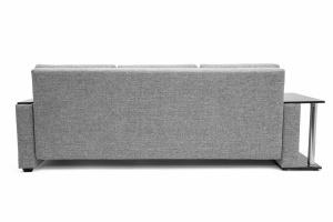Прямой диван Атланта со столом Gray + Sontex Black Вид сзади