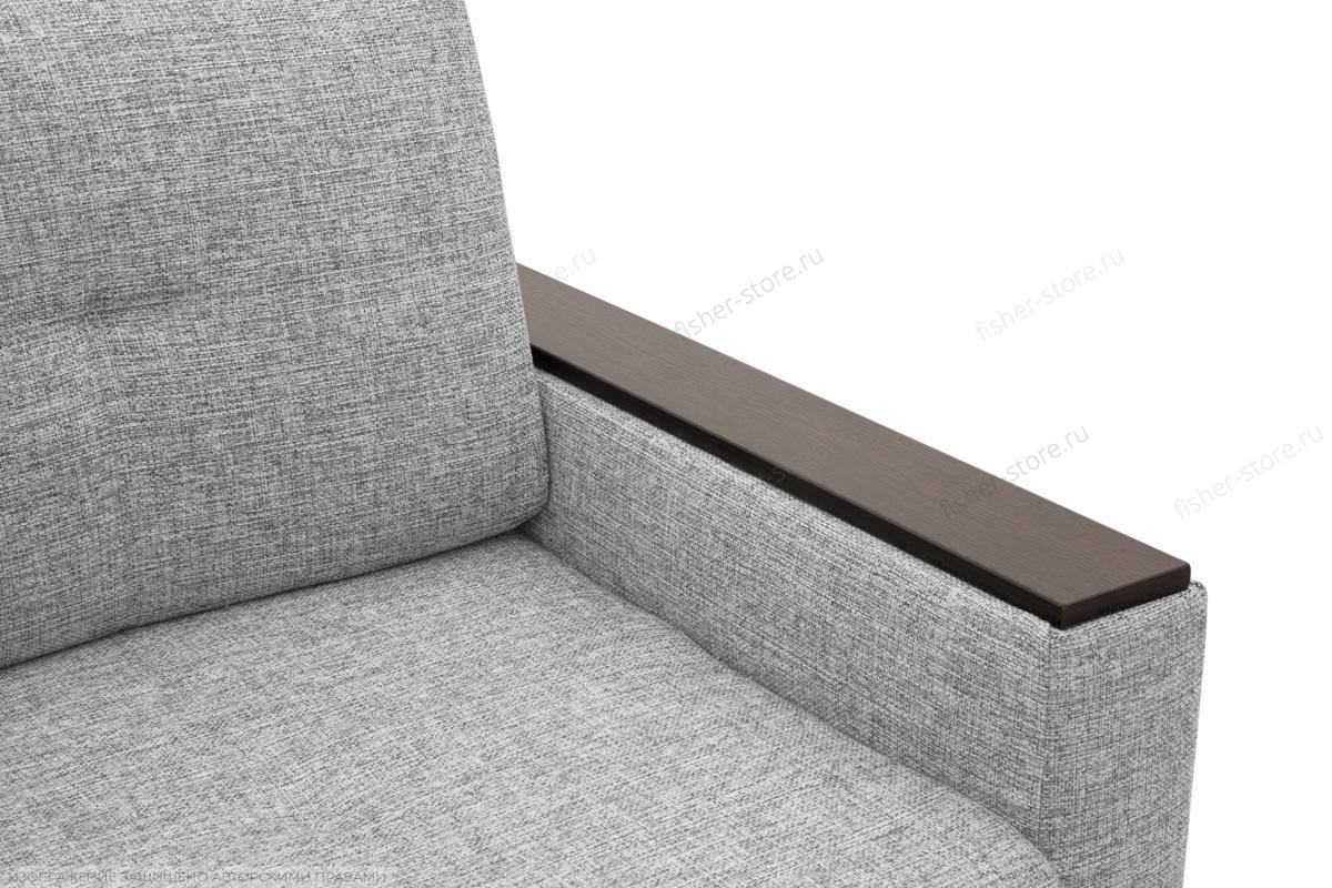 Прямой диван Атланта со столом Gray + Sontex Black Подлокотник
