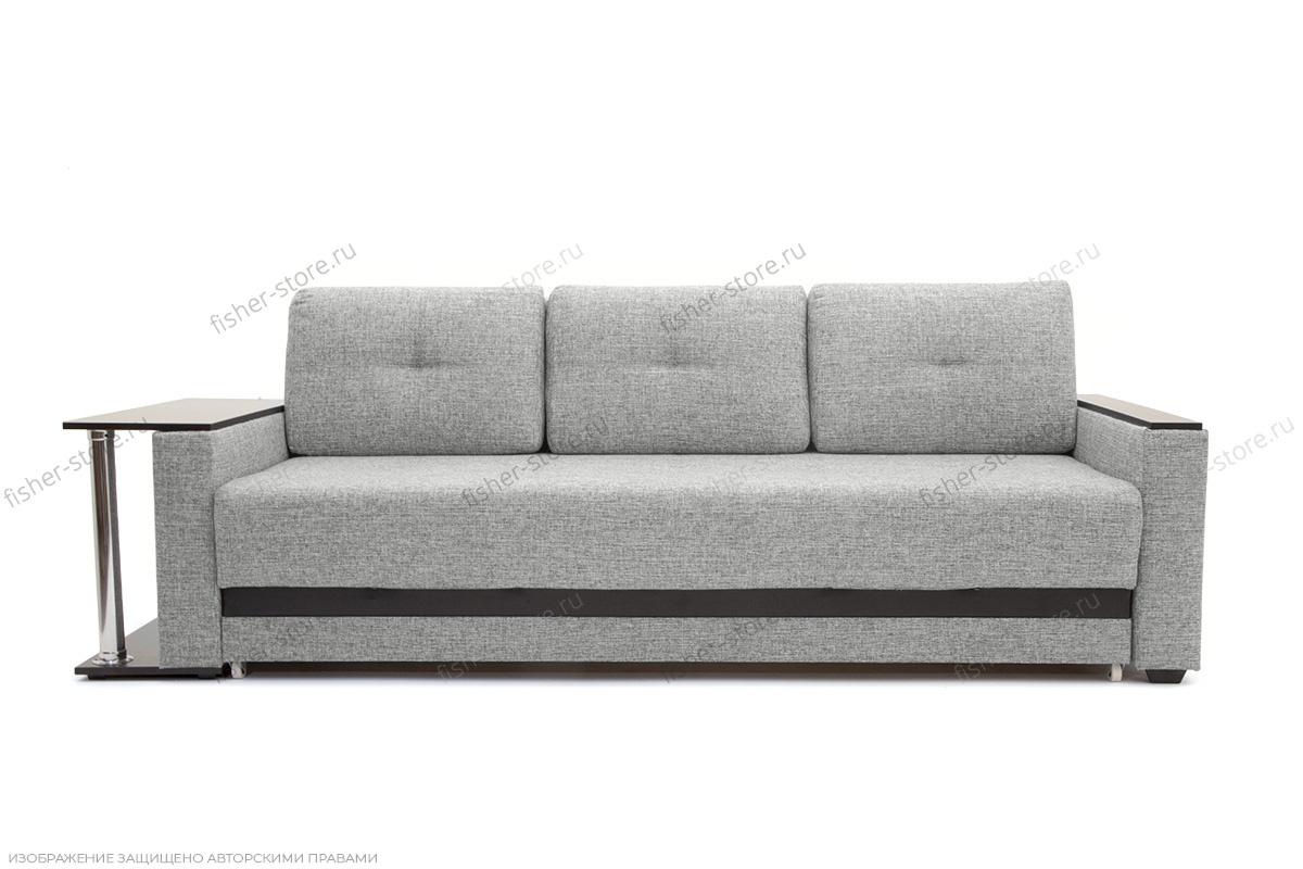 Прямой диван Атланта со столом Gray + Sontex Black Вид спереди