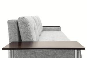 Прямой диван Атланта со столом Gray + Sontex Black Подушки