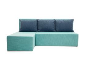 Угловой диван Нексус Orion Blue Вид спереди