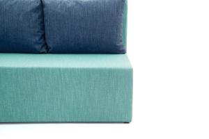 Угловой диван Нексус Orion Blue Ножки