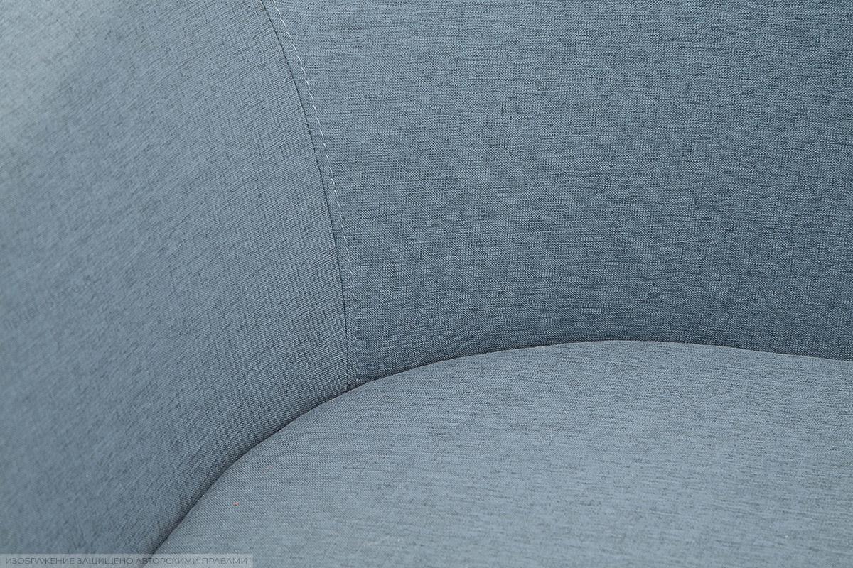 Прямой диван Лорд с опорой №5 Dream Blue Текстура ткани