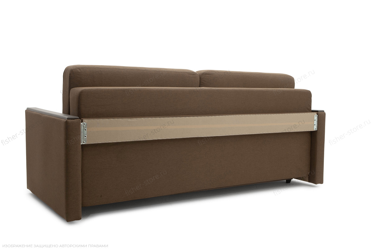 Прямой диван еврокнижка Джонас-2 Савана Хазел Вид сзади
