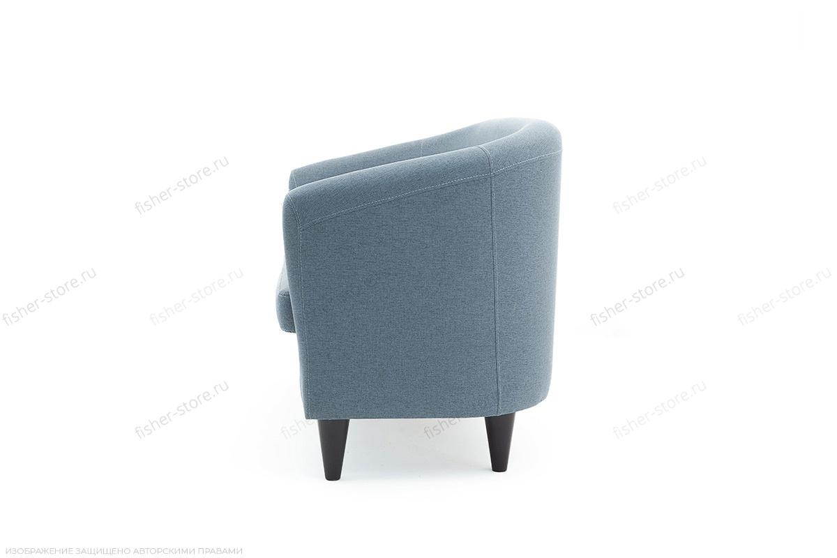 Прямой диван Лорд с опорой №5 Dream Blue Вид сбоку