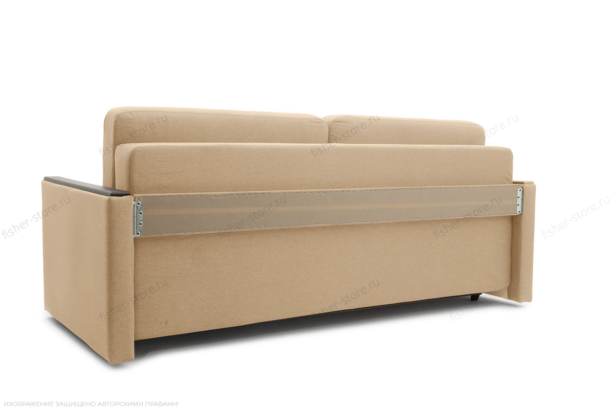 Двуспальный диван Джонас-2 Дрим Дарк беж Вид сзади