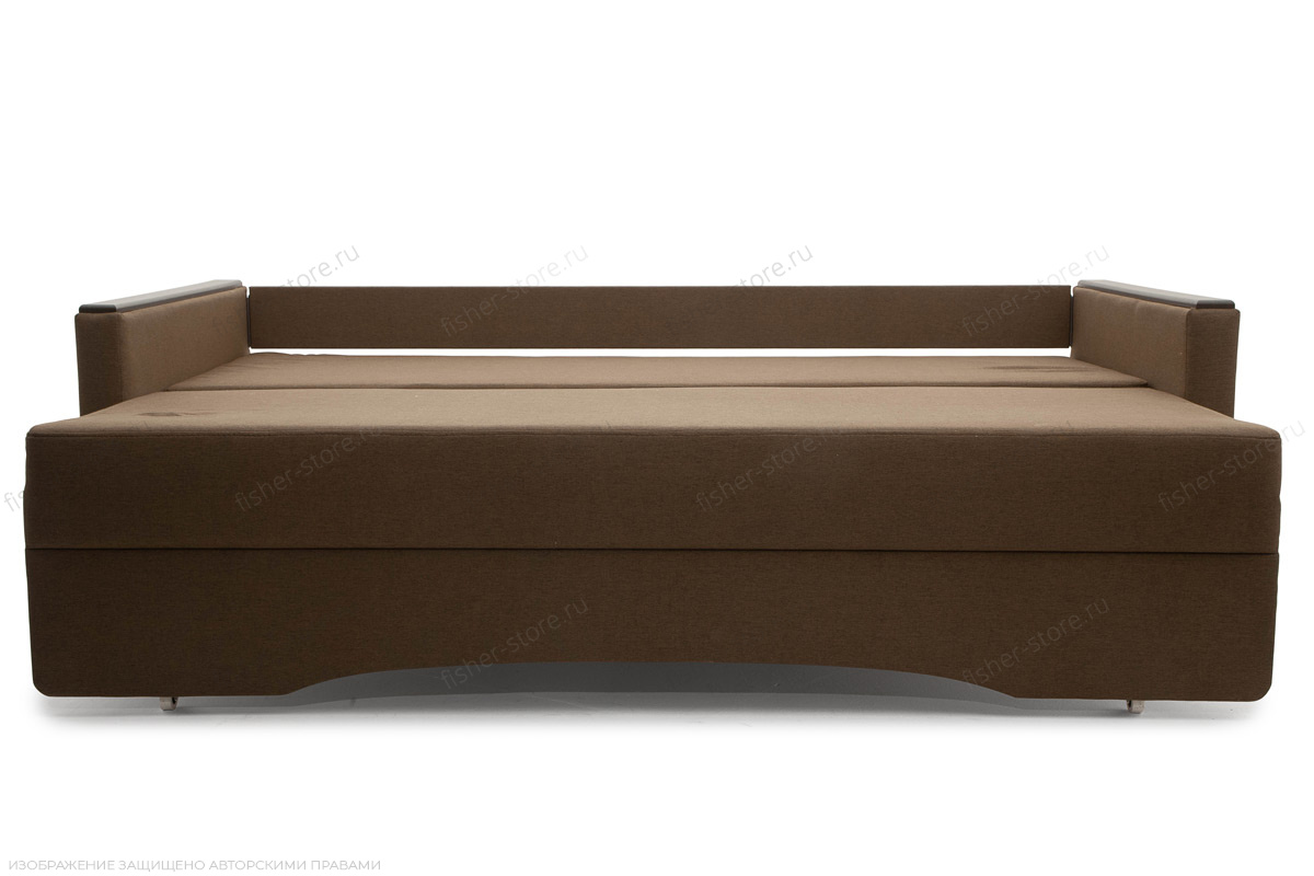 Прямой диван еврокнижка Джонас-2 Савана Хазел Спальное место