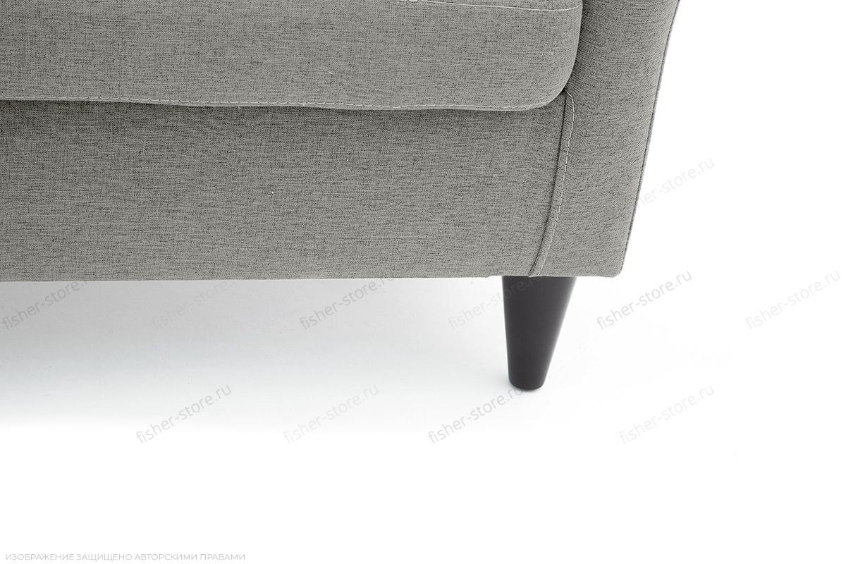 Прямой диван Лорд с опорой №5 Dream light grey Ножки