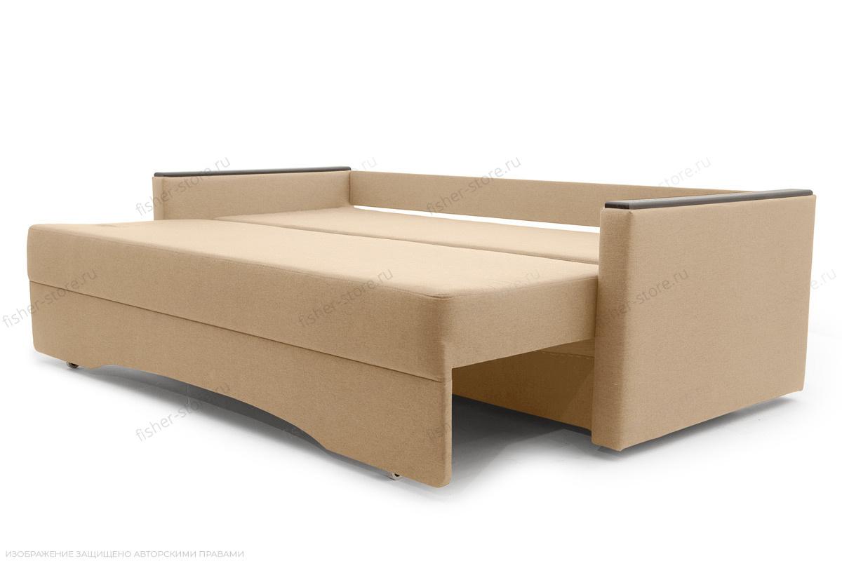 Прямой диван Джонас-2 Дрим Дарк беж Спальное место