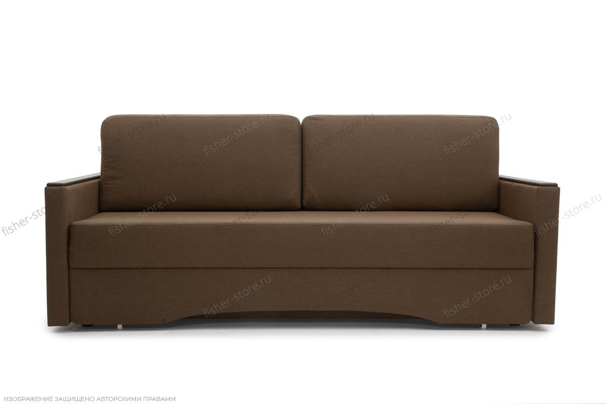 Прямой диван еврокнижка Джонас-2 Савана Хазел Вид спереди