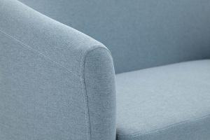 Прямой диван Лорд с опорой №5 Dream Blue Подлокотник