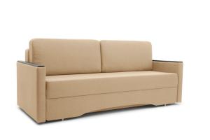 Прямой диван Джонас-2 Дрим Дарк беж Вид по диагонали