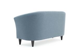 Прямой диван Лорд с опорой №5 Dream Blue Вид сзади