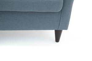 Прямой диван Лорд с опорой №5 Dream Blue Ножки