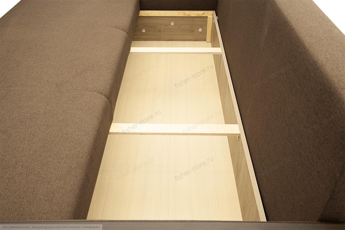 Двуспальный диван Премьер люкс Dream Brown + Savana Camel Ящик для белья