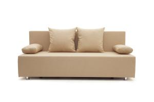 Прямой диван Чарли Savana Camel Вид спереди