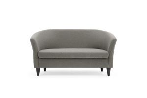 Прямой диван Лорд с опорой №5 Dream Grey Вид спереди