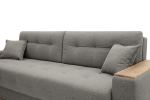 Прямой диван Фокус Dream Grey Подушки