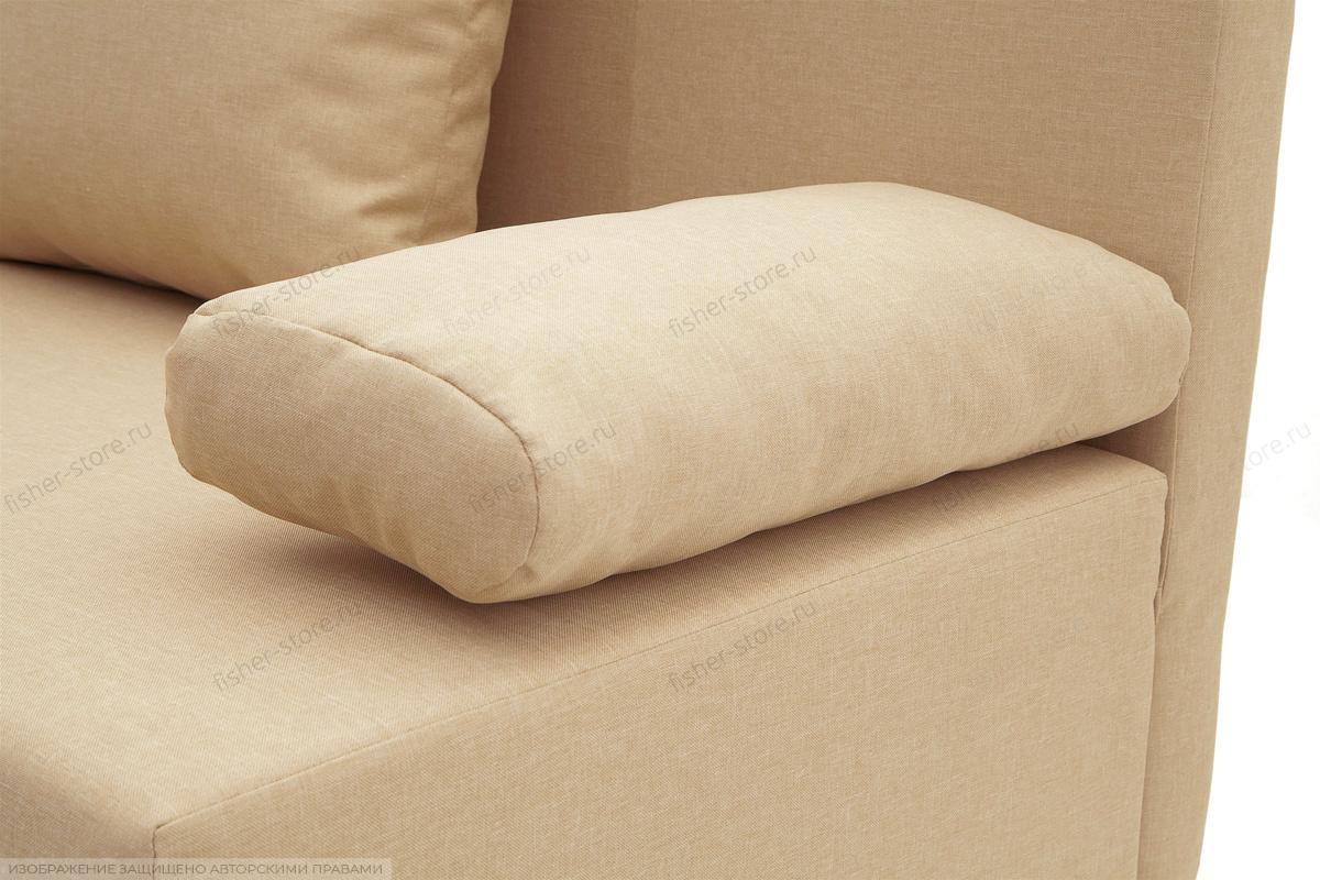 Прямой диван Чарли Savana Camel Текстура ткани