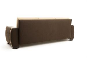 Двуспальный диван Премьер люкс Dream Brown + Savana Camel Вид сзади