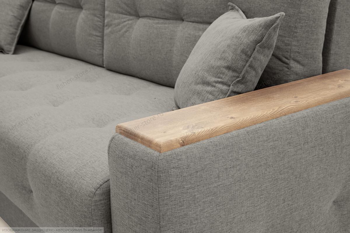 Прямой диван Фокус Dream Grey Текстура ткани