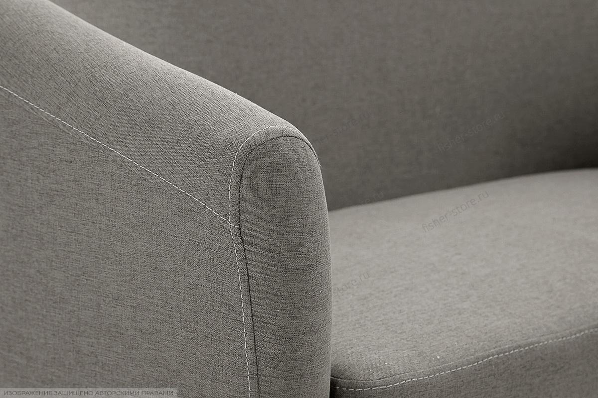 Прямой диван Лорд с опорой №5 Dream Grey Текстура ткани