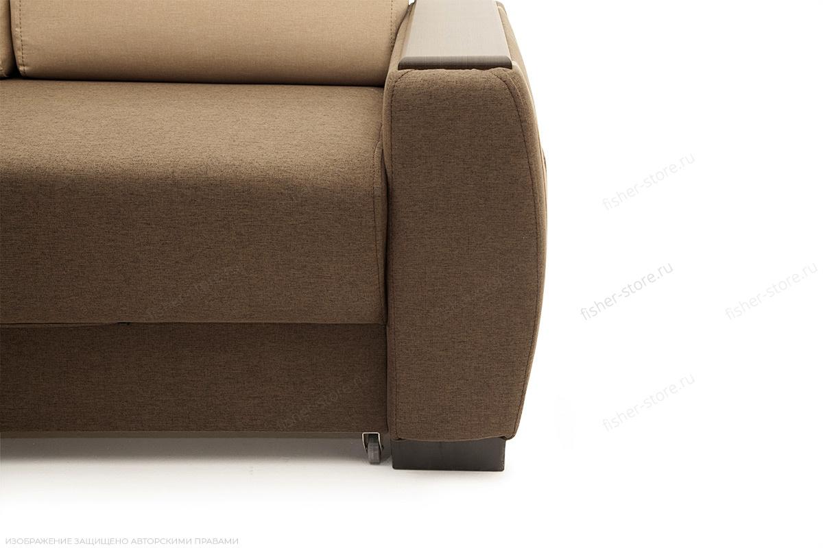 Двуспальный диван Премьер люкс Dream Brown + Savana Camel Ножки