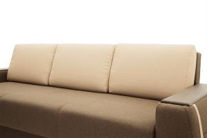 Двуспальный диван Премьер люкс Dream Brown + Savana Camel Подушки