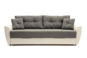 Прямой диван Винтаж Dream Grey + Sontex Milk Вид спереди