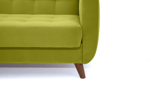 Прямой диван Оскар-2 с опорой №12 Max Green Ножки