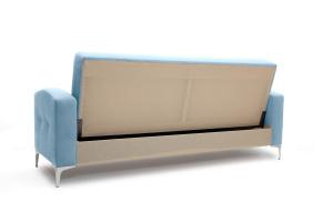 Прямой диван Оскар с опорой №9 Amigo Blue Вид сзади