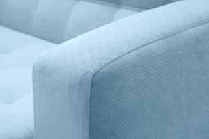 Прямой диван Оскар с опорой №9 Amigo Blue Текстура ткани