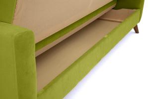Прямой диван Оскар-2 с опорой №12 Max Green Ящик для белья