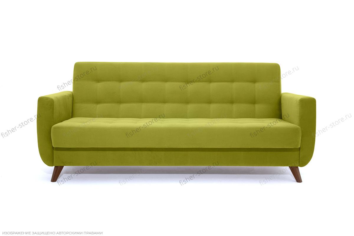 Прямой диван Оскар-2 с опорой №12 Max Green Вид спереди
