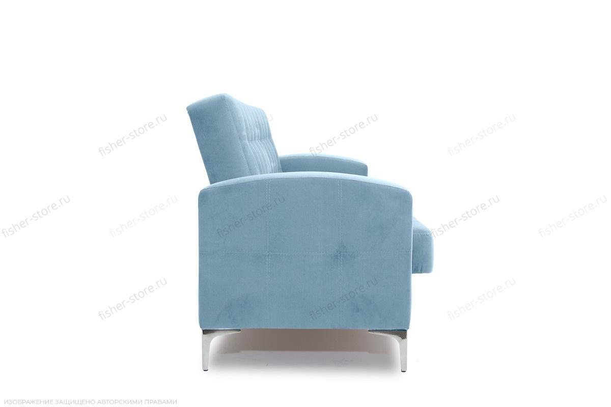 Прямой диван Оскар с опорой №9 Amigo Blue Вид сбоку