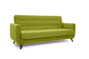 Прямой диван Оскар-2 с опорой №12 Max Green Вид по диагонали
