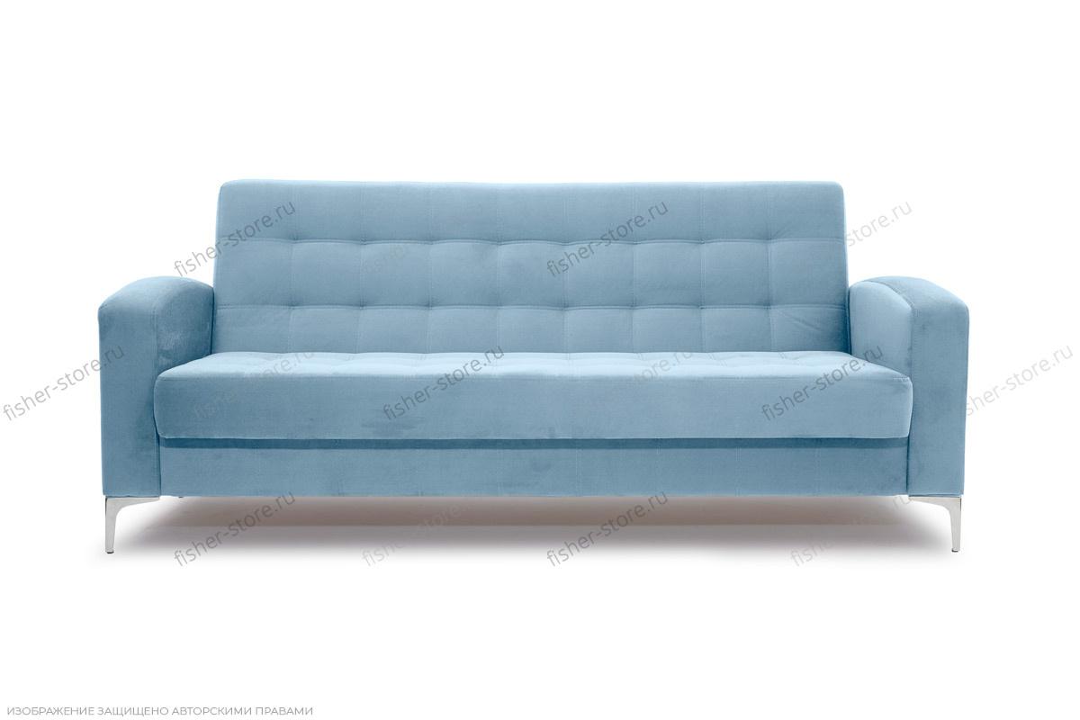 Прямой диван Оскар с опорой №9 Amigo Blue Вид спереди