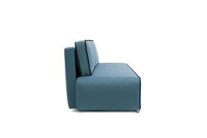 Прямой диван Лаки Maserati  Blue + Black Вид сбоку