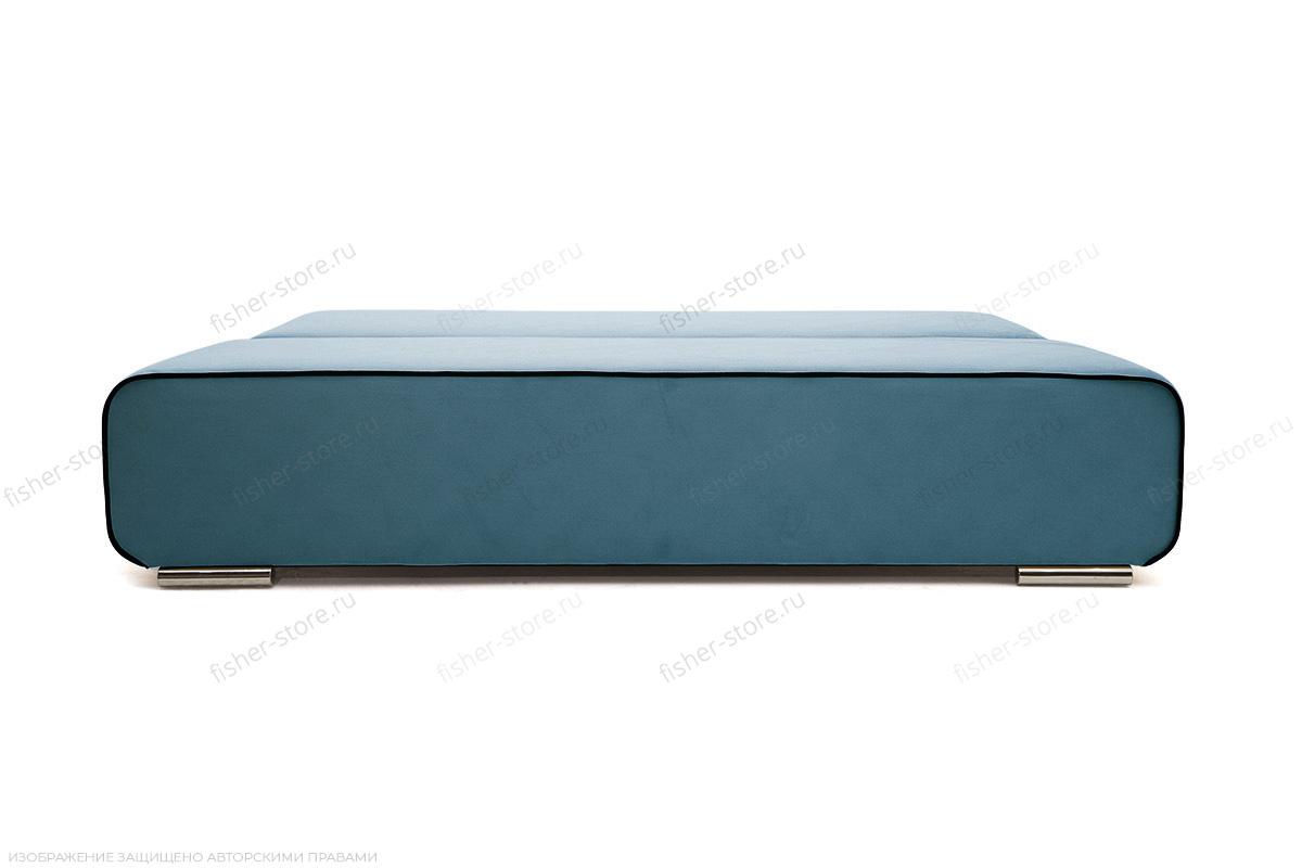 Прямой диван Лаки Maserati  Blue + Black Спальное место