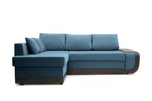 Двуспальный диван Нью-Йорк-2 Maserati  Blue + Sontex Umber Вид спереди