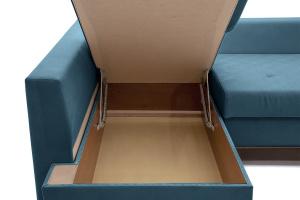 Двуспальный диван Нью-Йорк-2 Maserati  Blue + Sontex Umber Ящик для белья