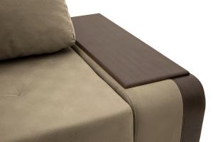 Угловой диван Нью-Йорк-2 Maserati Gray-Beight + Sontex Umber Подлокотник